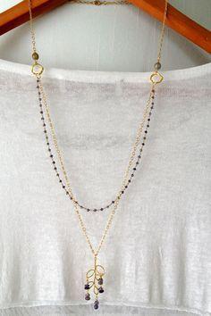 water sapphire gemstone chain - Google Search
