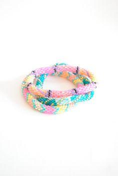 Neon Lily & Laura bracelets