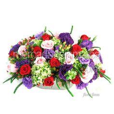 Bella Armonia Floral con Lisianthus Morado !| Envia Flores
