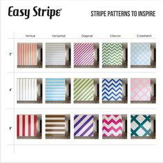 Easy Stripe wall decals   Removable Wall Stripes   WallsNeedLove