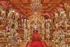 Ornate And Lavish Wedding At The Plaza Hotel In New York City Event Planning Design