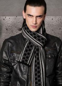 Online men scarves from cashmere KN5053