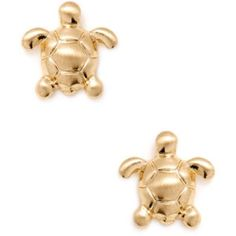 Reduced: Cara Couture Jewelry Turtle Earrings
