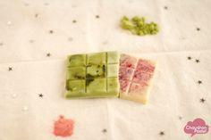 Carrés doux & pastels… ou comment faire son chocolat blanc maison (vegan)
