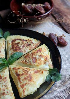 Dès que les bords se décollent ou que la Crepes, Healthy Breakfast Potatoes, Easy Cooking, Cooking Recipes, Veggie Recipes, Healthy Recipes, Carne Picada, Ramadan Recipes, Turkish Recipes