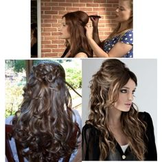 Use Weft Hair Extensions for stylish Look! Weft Hair Extensions, Fashion Beauty, Long Hair Styles, Stylish, Polyvore, Collection, Design, Women, Long Hairstyles