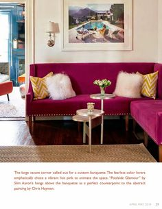 Just Published: In Living Color with Peachy Magazine | The English Room