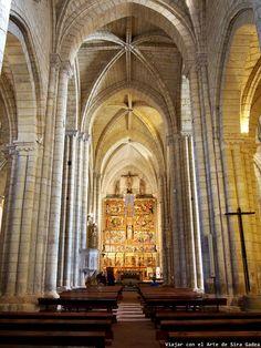 Viajar con el Arte: La iglesia de Santa María la Blanca de Villalcázar de Sirga, en Palencia