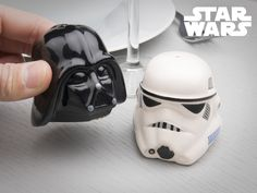 Star Wars Salt and Pepper Shakers -  perfect for home in the kitchen and in the spaceship's galley!