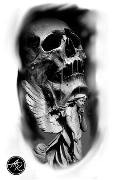Tattoo statue