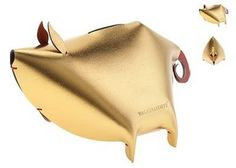 vacavaliente leather piggy bank - Google Search