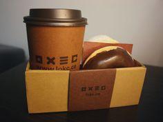 Coffee & Donut Design Portfolio by Fannie Lam, via Behance