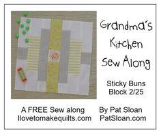 Pat Sloan Block 2 Grandmas Kitchen button