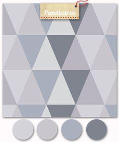 Triângulos Frios – Cinza