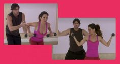#BrookeBurke shares effective upper body exercises you can do at home. #workout #fitness #OMB #arms