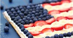 Union Chef: American Flag Pizza Pastry