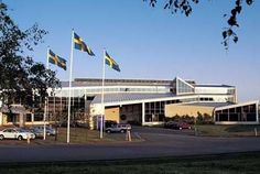 The Volvo factory, Sweden!