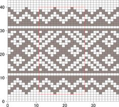 images about Charts for Fair Isle, Jacquard, crochet, cross-stitch on Pint… – knitting charts Fair Isle Knitting Patterns, Fair Isle Pattern, Knitting Charts, Knitting Stitches, Cross Stitches, Mosaic Patterns, Loom Patterns, Stitch Patterns, Crochet Patterns