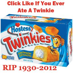 We will miss you Twinkie
