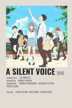 A Silent Voice Poster by Cindy