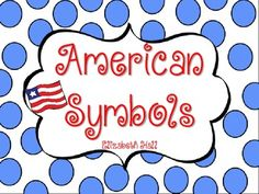 American Symbols Freebie Activity
