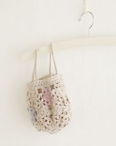 Japanese site. #crochet #bag #inspiration #nopattern