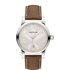 MontBlanc Luxury Watches Collection; created perfect timepieces by our master craftsmen.  #luxurywatches #timepieces #men #women #gifting ideas #silver  http://www.johnsonwatch.com/mont-blanc.php