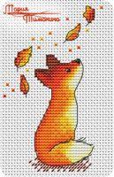 Gallery.ru / Фото #8 - Всякое разное - timohina Fall Cross Stitch, Cross Stitch Baby, Cross Stitch Animals, Cross Stitch Charts, Cross Stitch Designs, Cross Stitch Patterns, Cross Stitching, Cross Stitch Embroidery, Embroidery Patterns