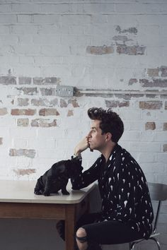Nick Grimshaw: Topman's new man – in pictures