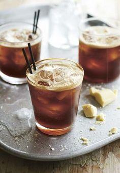 Kaffee altmodisch - Syrup, Tea & other Drinks - Cocktails Alcoholic Coffee Drinks, Coffee Cocktails, Craft Cocktails, Cocktail Drinks, Fun Drinks, Yummy Drinks, Cocktail Recipes, Beverages, Liquor Drinks