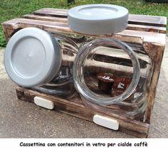 Cassettina con contenitori vetro