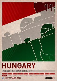 Formula 1 2011 Posters from www.DesignModo.com