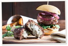 Enjoy our Castle MacLellan Mushroom Pâté ooze from these stuffed burgers. A scrumptious recipe. Best served with black pudding in a fresh ciabatta with salad. Oven Roasted Mushrooms, Stuffed Mushrooms, Vegetarian Pate, Stuffed Burgers, Black Pudding, Mushroom Burger, Ciabatta, Burger Recipes, Recipe Using