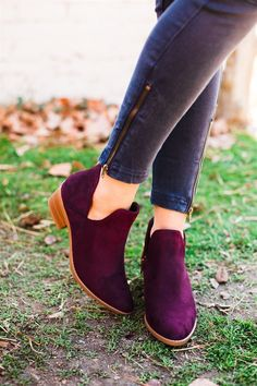 Side Cut Out Booties | 3 Colors