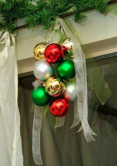 Home Decor Ideas: Pottery Barn Knock Off Christmas Ornament Idea