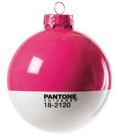 Pantone™ Universe Christmas Balls 2011 designed by Studio Badini for Seletti