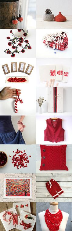 Red  Finds! by Ayasa on Etsy--Pinned with TreasuryPin.com https://www.etsy.com/treasury/Nzc1MjkzNnwyNzIyNjEzNTY1/red-finds