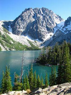 Colchuck Lake Hike - Leavenworth, WA 8.4 Miles 2,200 ft gain