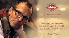 Brand Guru, Hillman Curtis talks about creative expression.