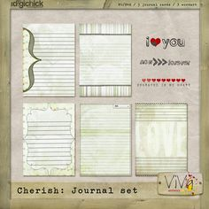 FREE project life journaling cards!!  I always see the printable cards but haven't seen the digital downloads.  Woo hoo!!