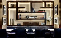 <p>The KX restaurant and clubroom combines a mid-twentieth century design with understated luxury creating a calm and timeless feel. </p>