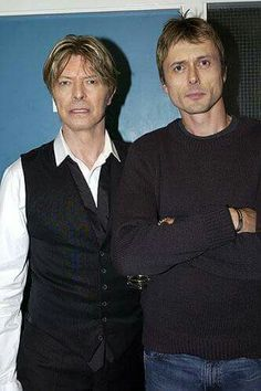 2 of my fave musicians ever! David Bowie & Brett Anderson