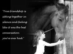 Horses heal in a way that no spoken word ever could.