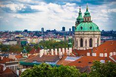 #Prague #travel #explore #city Prague Travel, San Francisco Ferry, Taj Mahal, Explore, City, Building, Photography, Photograph, Buildings