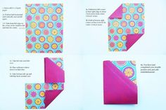 double pocket card instructions