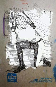 Danger Girl Abbey Chase by Ryan Sook Comic Art