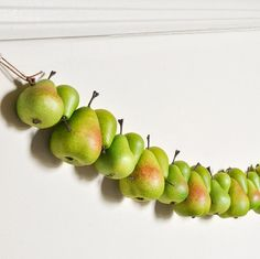 Pear Garland Decor Green Kitchen Home Decoration for by wishdaisy, $38.00