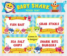 Pink Birthday 1st Parties 3rd Ideas Baby Shark