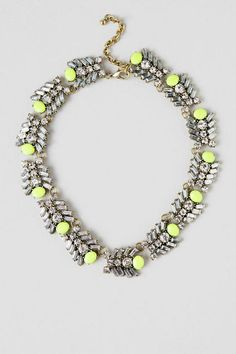 Empire Art Deco Statement Necklace