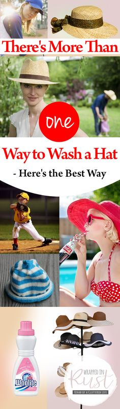 There's More Than One Way to Wash a Hat – Here's the Best Way| How to Wash Your Hats, Hat Washing Tips and Tricks, Easy Ways to Wash Hats, Cleaning, Clean Everything, Cleaning TIps and Tricks, Popular Pin